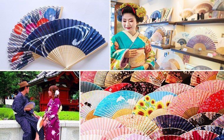 日本时尚与文化:折扇---既是纳凉工具又是日本传统艺术的小道具