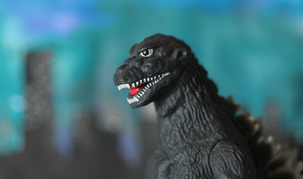 日本怪兽界的代表——哥斯拉