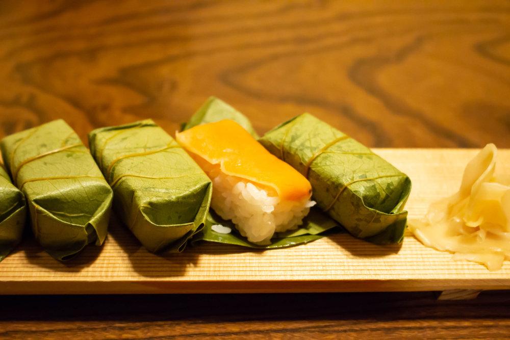 奈良名吃——柿叶寿司