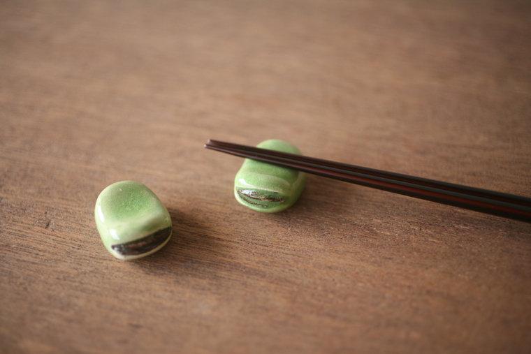 日本人餐桌上的细节之美丨筷子架