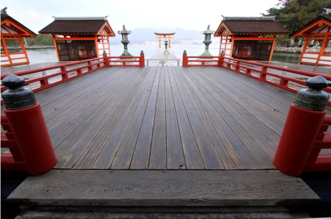 日本三景之一--世界遗产之严岛神社 平氏一族永远的圣地