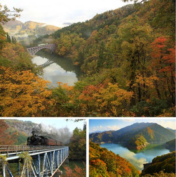走风光游四季 日本全国红叶名胜景点之东北 北海道篇