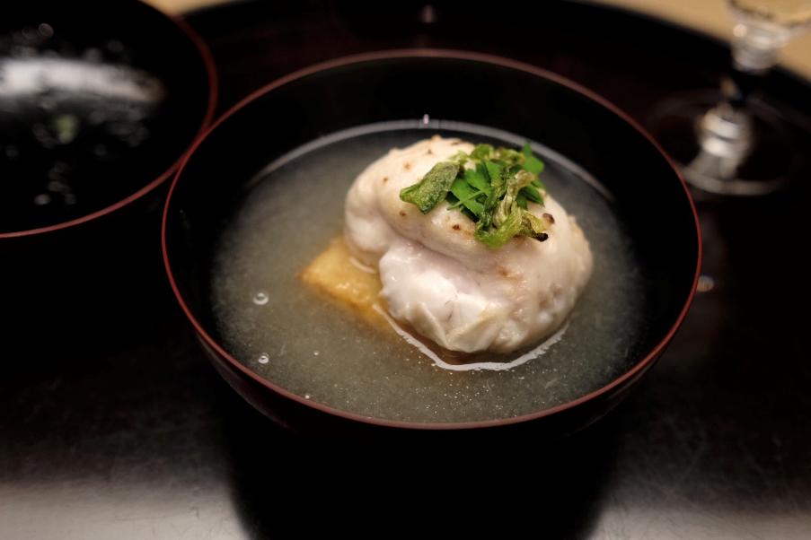 【お料理宮本】证明了在大阪这样的地界,也能有像样的怀石料理!